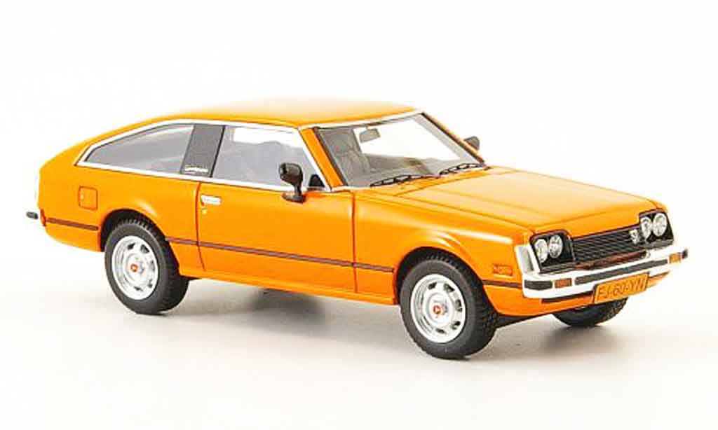 Toyota Celica 1/43 Neo mk2 (a40) orange miniature