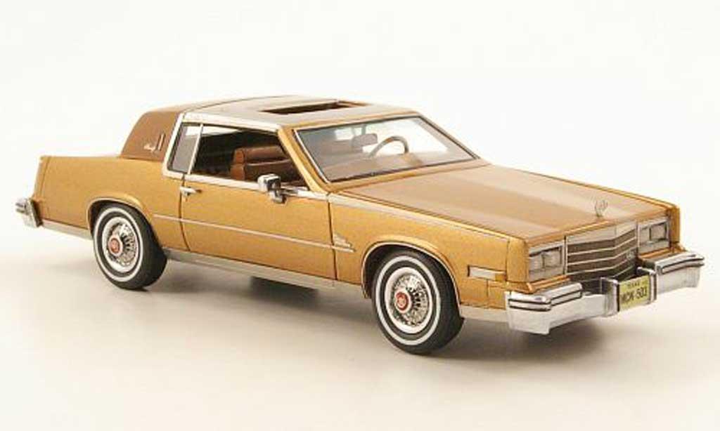 Cadillac Eldorado 1/43 American Excellence Biarritz gold/marron lim. Aufl. 500 1979 diecast model cars