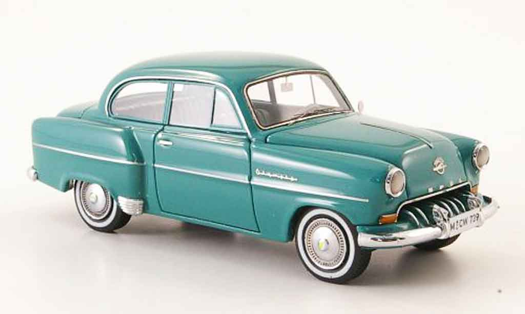Opel Olympia 1/43 Neo rekord limousine verte lim. auf. 300 1954 miniature