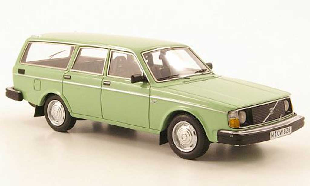 Volvo 245 1/43 Neo DL verte limited edition 1974 miniature