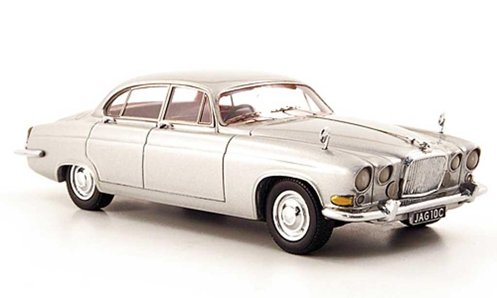 Jaguar MK 10 1/43 Neo grise grise miniature