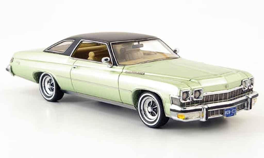 Buick Le Sabre 1/43 Neo HT Coupe grun 1974 miniature