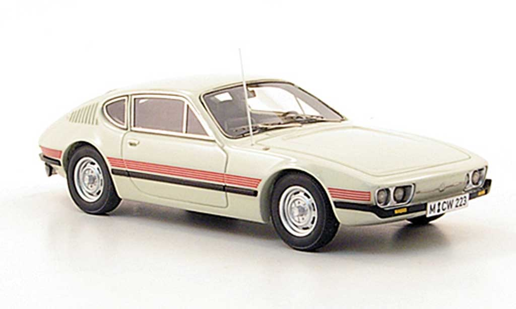 Volkswagen SP2 1/43 Neo whitegray limited edition 1974 diecast