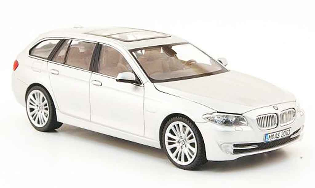 Bmw 550 F11 1/43 Schuco Touring grise metallisee 2010 miniature