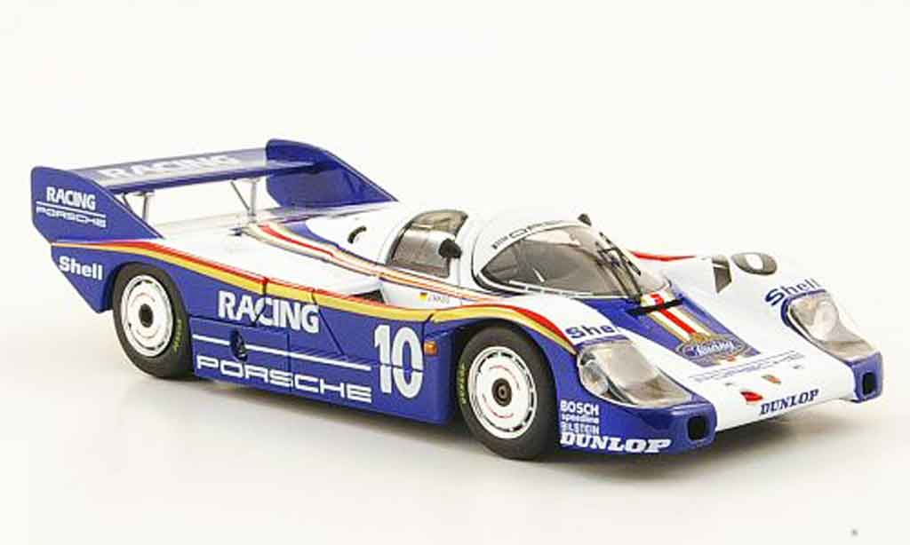 Porsche 956 1982 1/43 Ebbro No.10 Racing Norisring diecast model cars