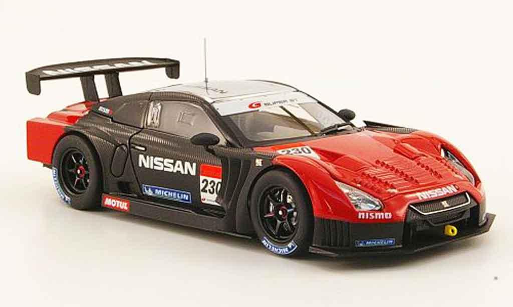 Nissan Skyline R35 1/43 Ebbro JGTC Nismo GT R No.230 Test Suzuka SuperGT 500 2010 diecast