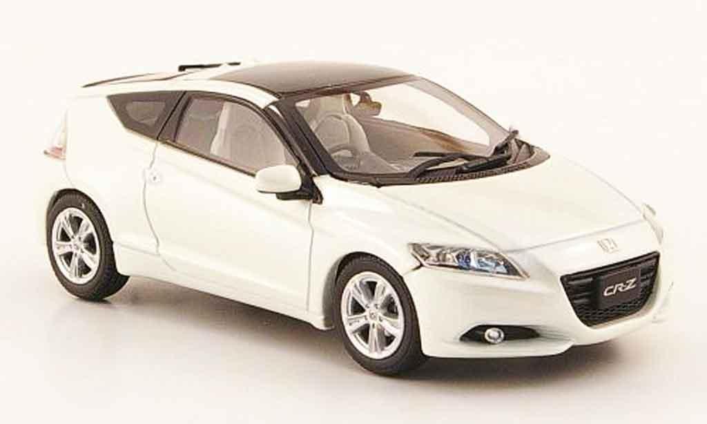 Honda CR-Z 1/43 Ebbro blanche RHD miniature