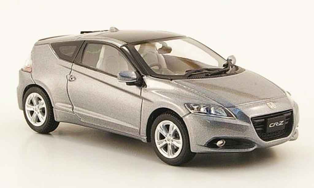 Honda CR-Z 1/43 Ebbro grise RHD miniature