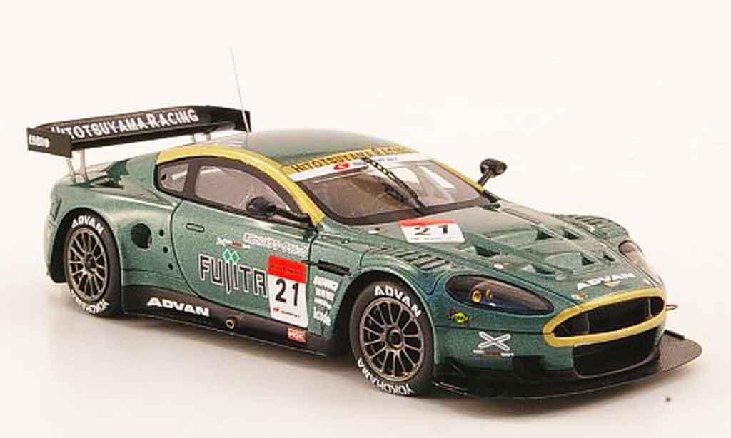 Aston Martin DBR9 1/43 Ebbro akasaka no.21 fujita supergt 2009 miniatura