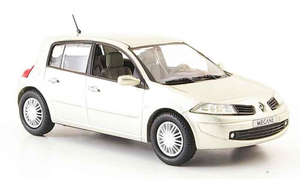 Renault Megane 1/43 Eligor beige 4 turer 2006 miniature