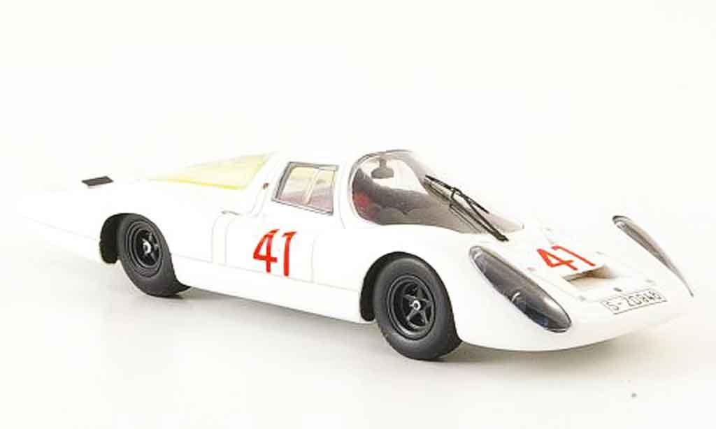 Porsche 907 1967 1/43 Ebbro No.41 Test 24 Le Mans miniature