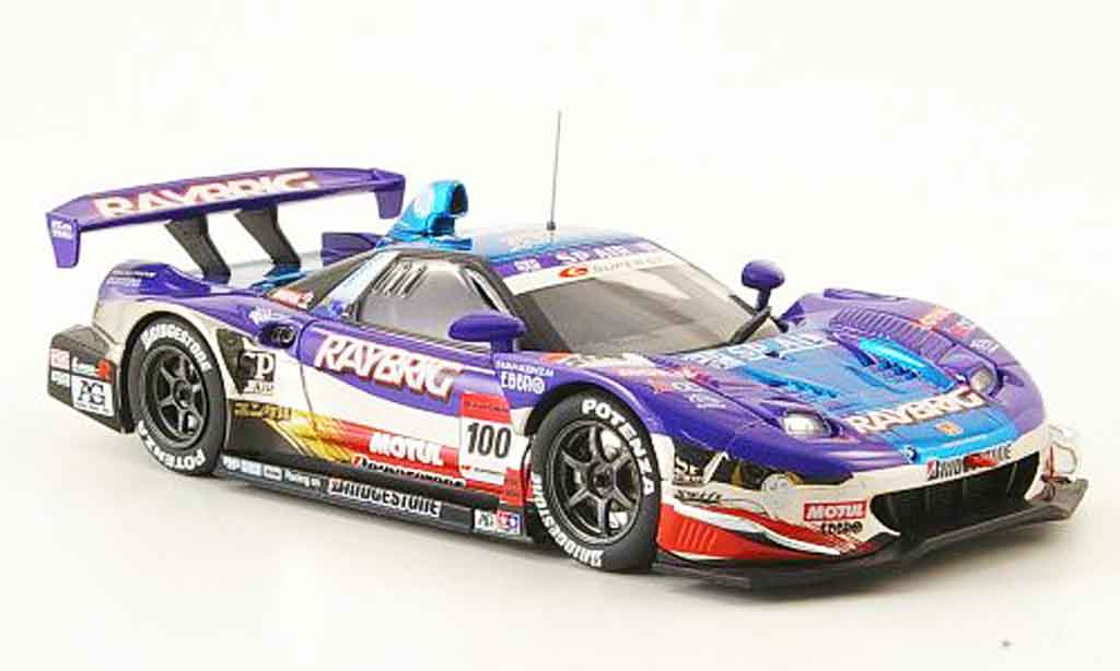 Honda NSX Super GT 1/43 Ebbro No.100 Raybrig 2008 diecast model cars
