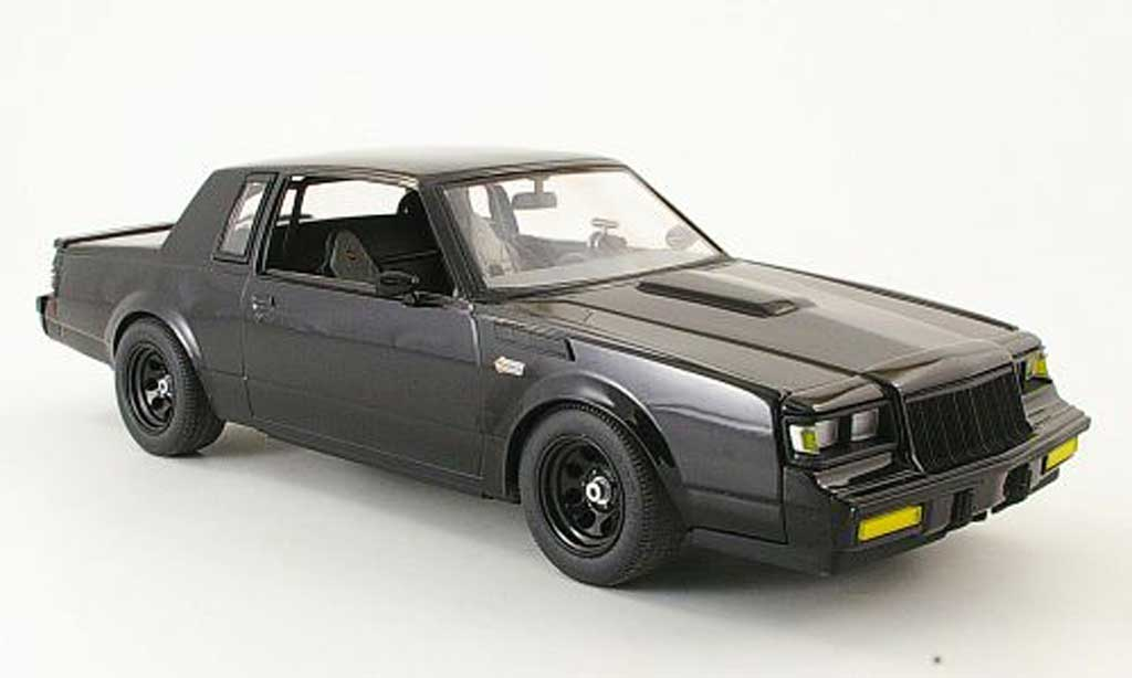 Buick T-Type 1/18 GMP grand natinal streetfighter noire miniature