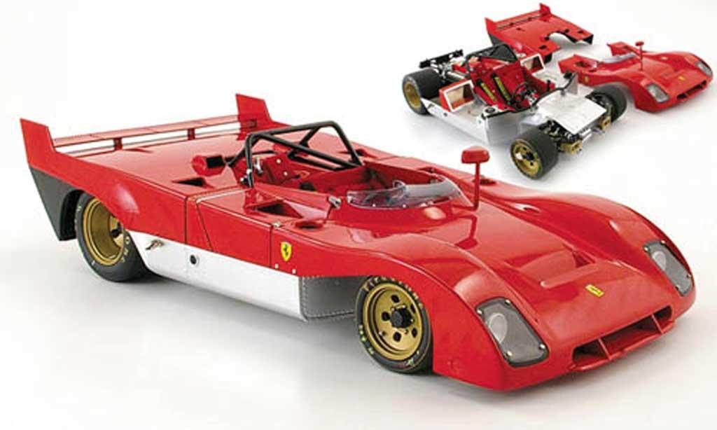 Ferrari 312 1/18 GMP pb prougeotyp rouge miniature