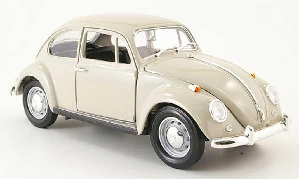 Volkswagen Kafer 1/18 Yat Ming beige 1967 miniatura