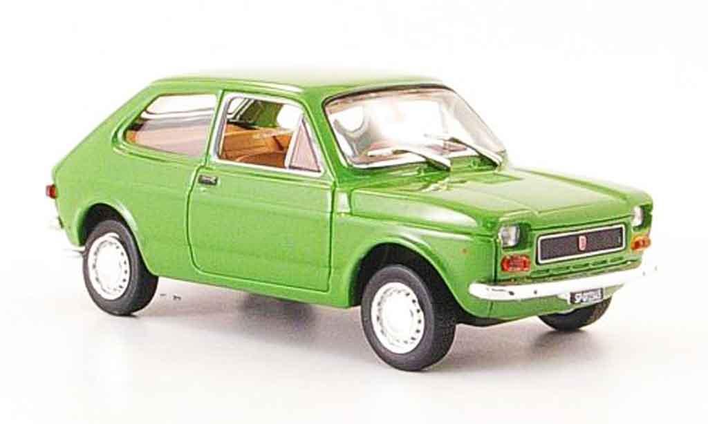 Fiat 127 1/43 Norev grun 1971 diecast model cars