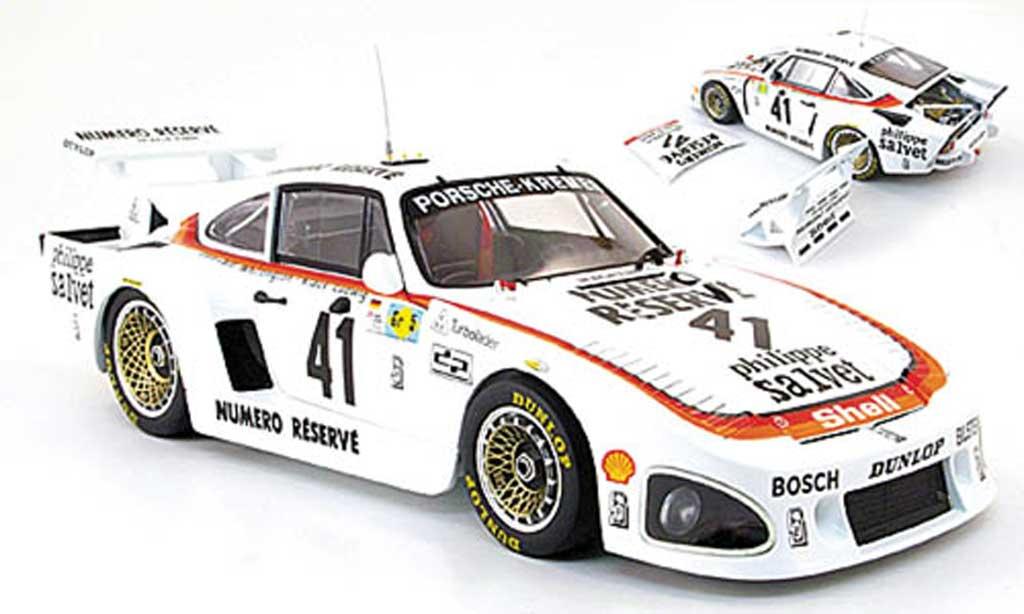 Porsche 935 1979 1/18 TrueScale Miniatures k3 no.41 numero reserve 24h le mans modellautos