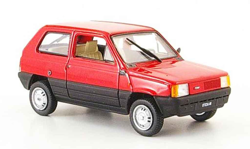Fiat Panda 1/43 Norev rouge 1980 miniature