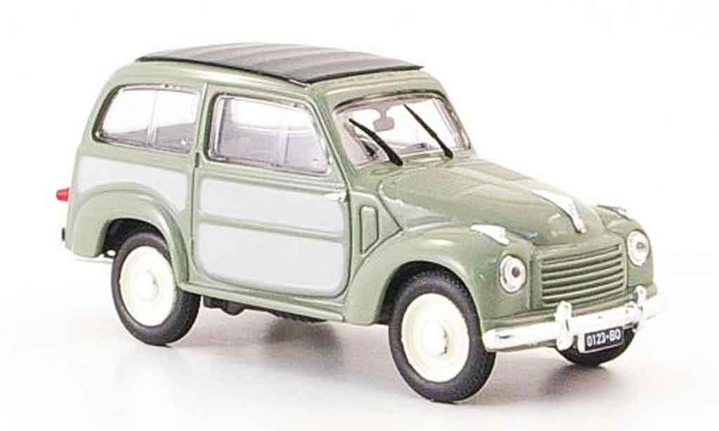 Fiat 500 1/43 Norev Belvedere grau 1951 modellautos
