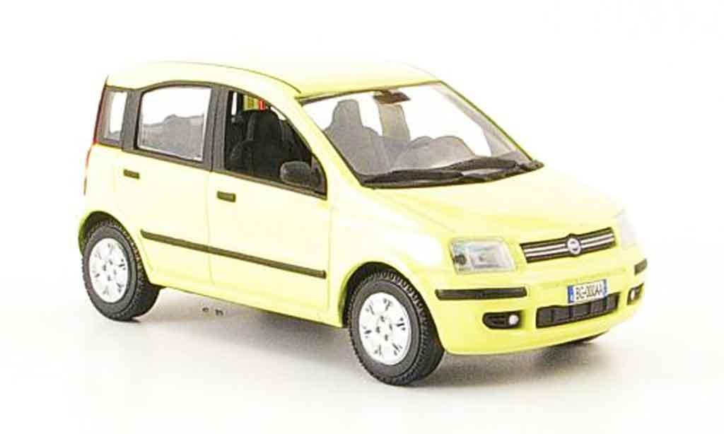 Fiat Panda 1/43 Norev Nuova jaune 2003 miniature