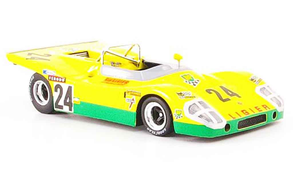 Ligier JS3 1/43 Bizarre No.24 BP 24h Le Mans 1971 diecast model cars
