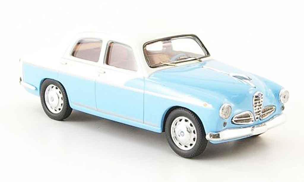 Alfa Romeo 1900 Ti 1/43 M4 bleu blanche 1956 miniature