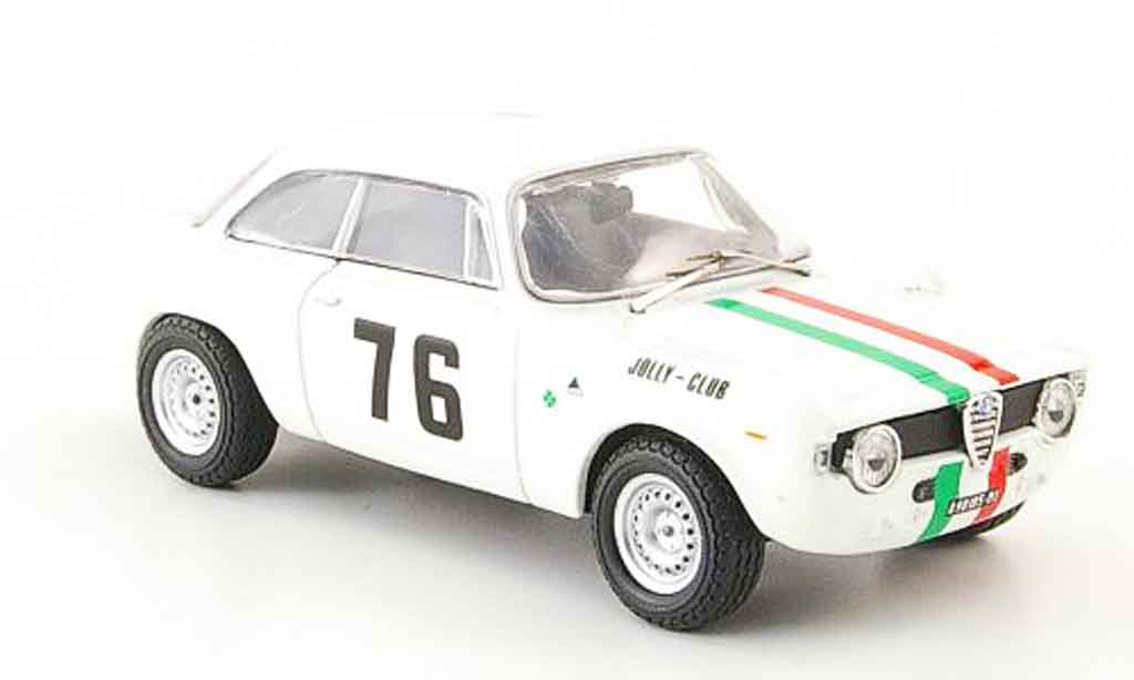 Alfa Romeo Giulia 1600 GTA 1/43 M4 no.76 baghetti slotemaker monza 1966 miniatura