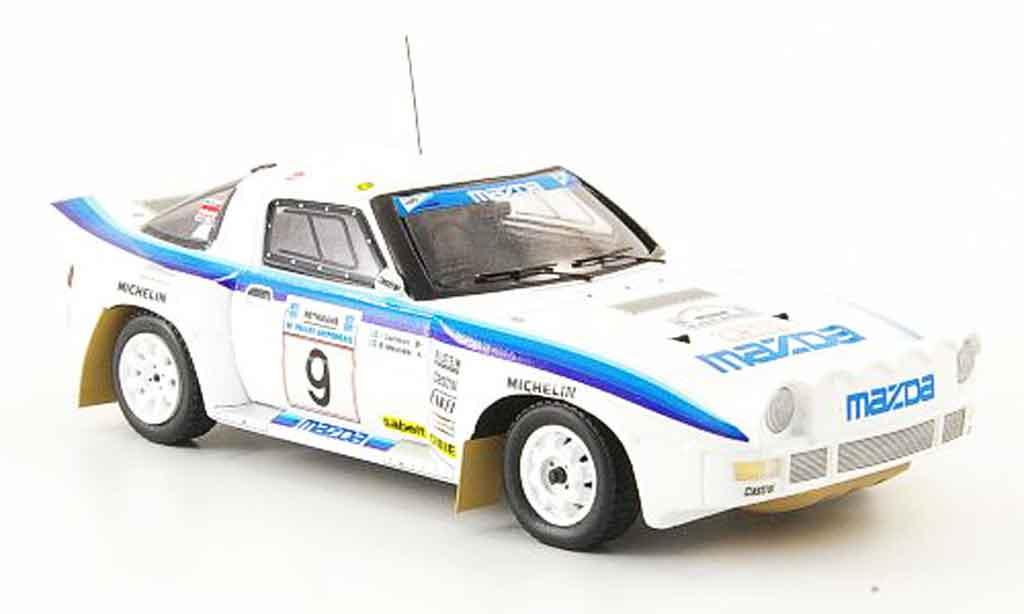 Mazda RX7 1985 1/43 Bizarre No.9 Carlsson Melander Rally Griechenland 1985 miniatura