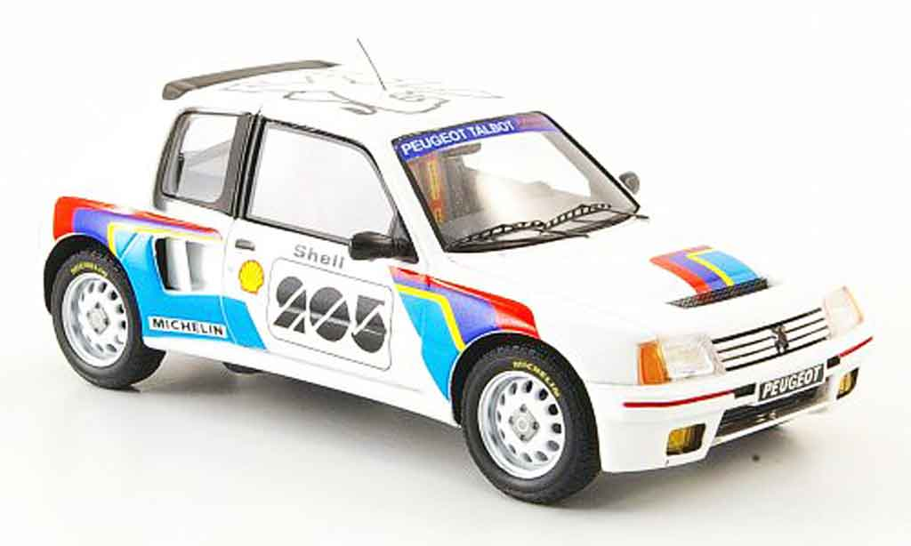 Peugeot 205 Turbo 16 1/43 Spark t16 presentation miniature