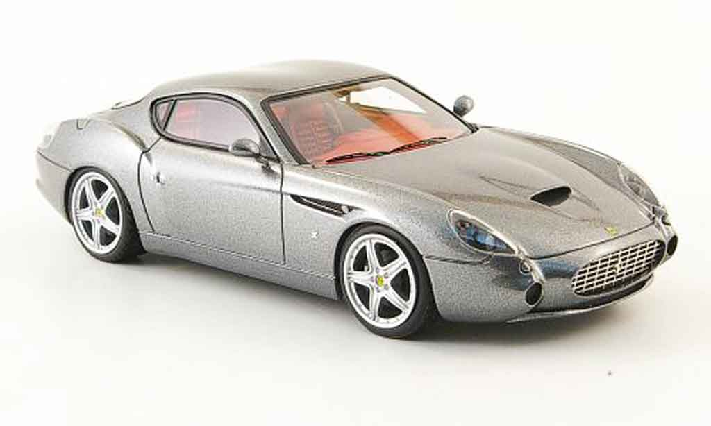 Ferrari 575 GTZ 1/43 Look Smart zagato gray diecast