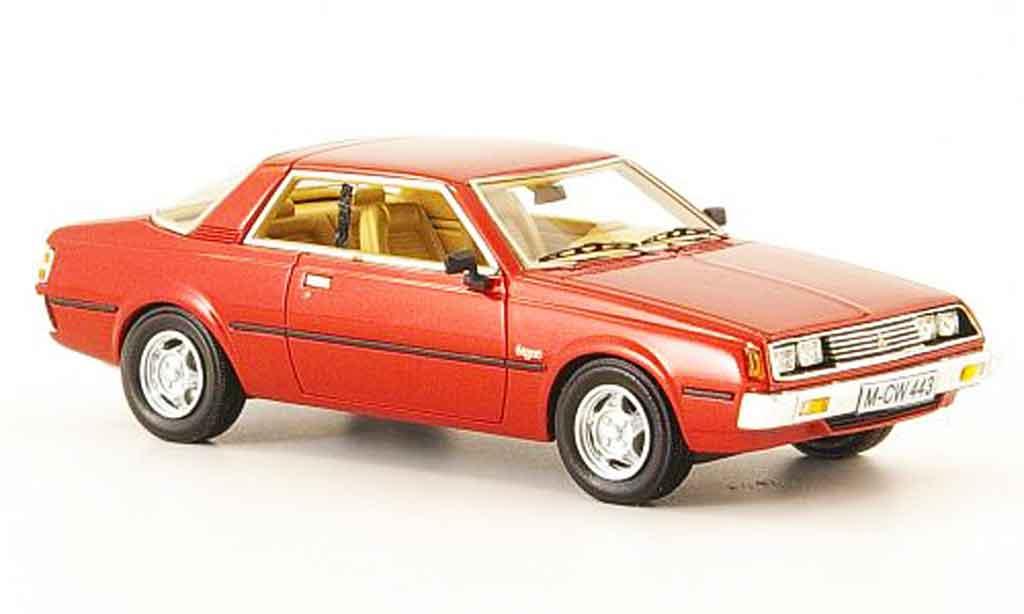 Mitsubishi Sapporo 1/43 Neo MK1 rouge edition liavecee 300 1982 miniature