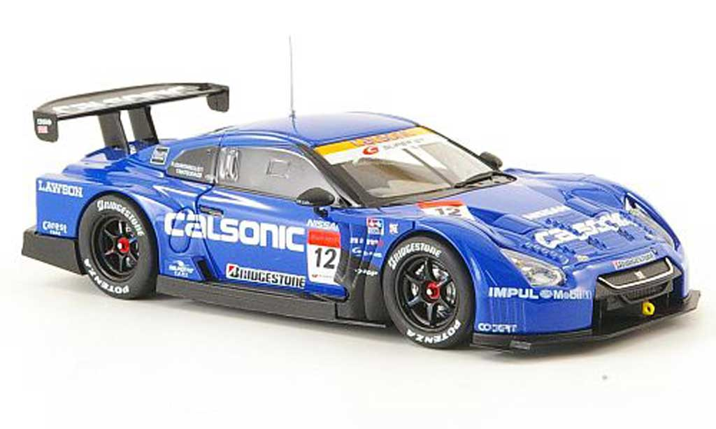 Nissan Skyline 1/43 Ebbro Impul GT-R No.12 Calsonic Super GT500 2010 diecast model cars