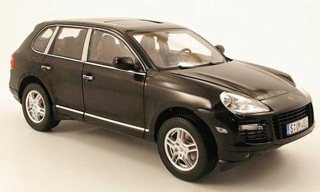 Porsche Cayenne Turbo 1/18 Norev i black 2007-2010 diecast