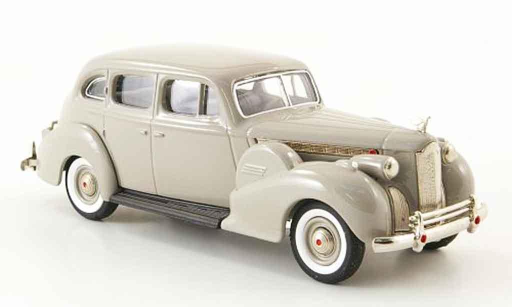 Packard Super 8 1/43 Rextoys Sedan grise 1940 miniature