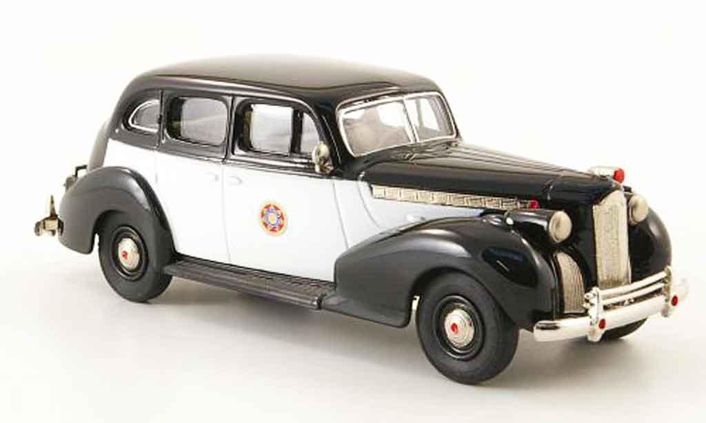 Packard Super 8 1/43 Rextoys Sedan California Highway Patrol 1940 miniature