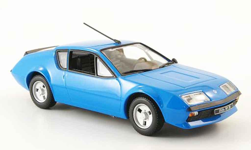 Alpine A310 V6 1/43 Eligor bleu 1976 miniature