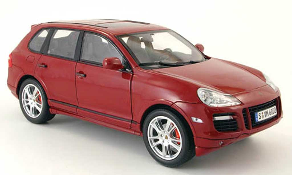 Porsche Cayenne GTS 1/18 Norev i red 2007-2010 diecast model cars