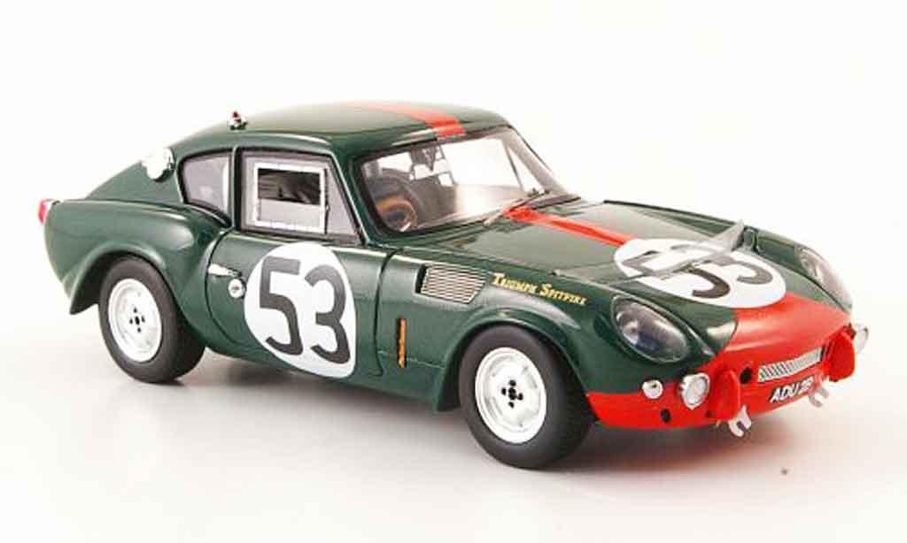 Triumph Spitfire 1/43 Spark No.53 24h Le Mans 1965 modellino in miniatura