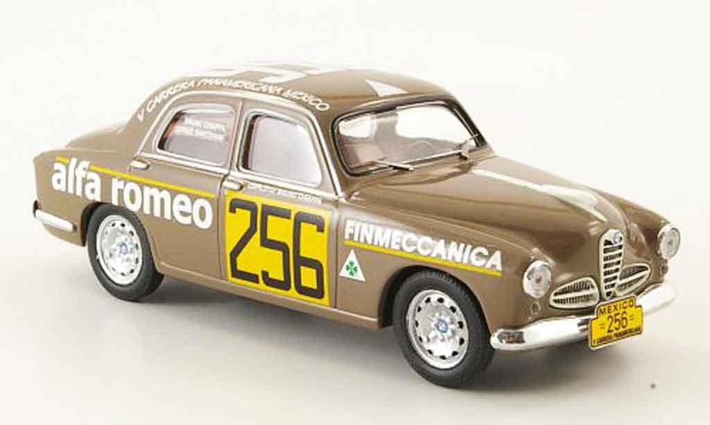 Alfa Romeo 1900 Ti 1/43 M4 no.256 carrera panamericana mexico 1954 diecast