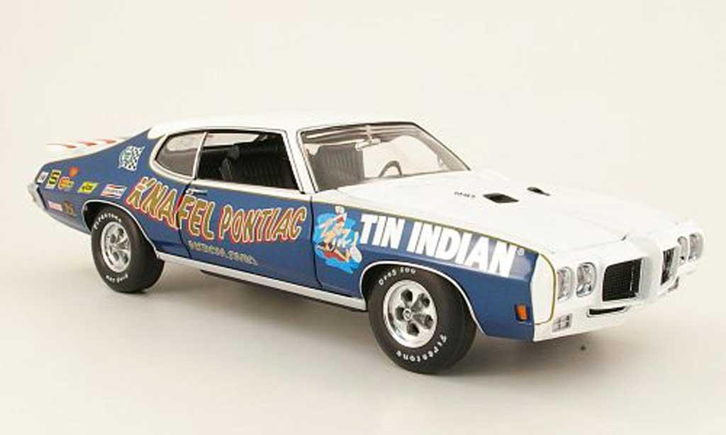 Pontiac GTO 1/18 GMP judge tin indian 1970 miniature
