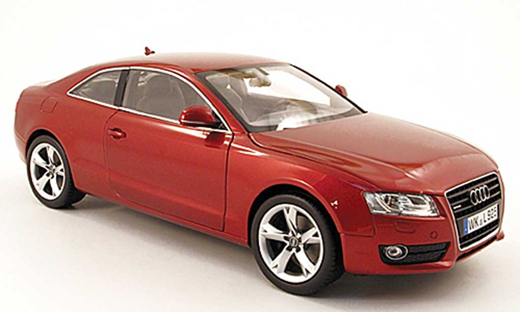 Audi A5 1/18 Norev coupe rouge 2007 miniature