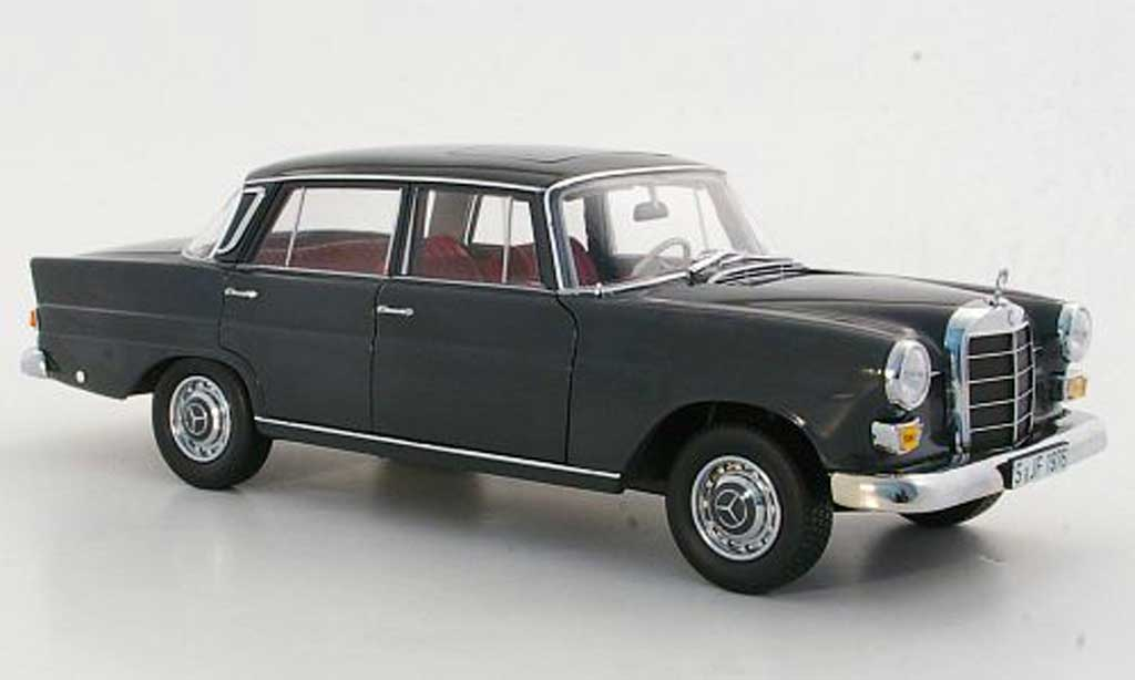 Mercedes 200 1/18 Norev (W110) grey 1966 diecast model cars
