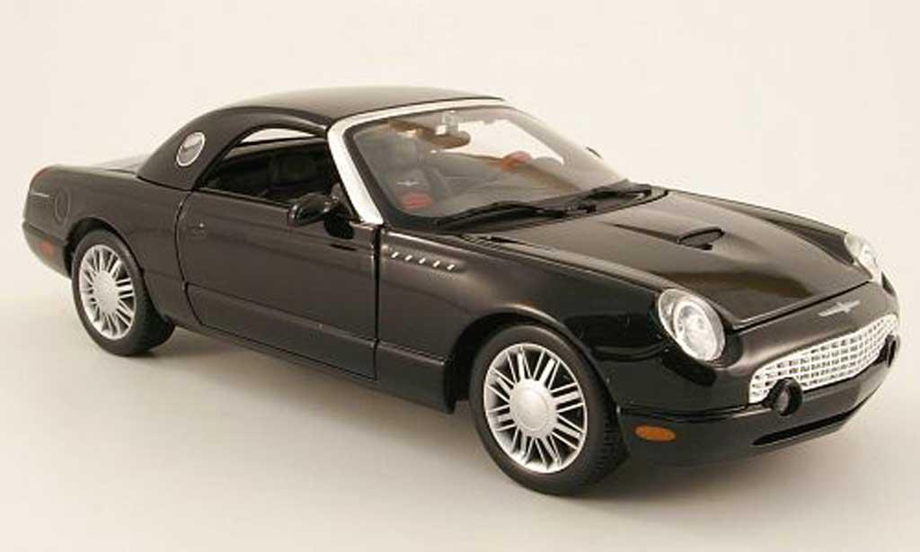 Ford Thunderbird 2002 1/18 Maisto noir hardtop diecast model cars
