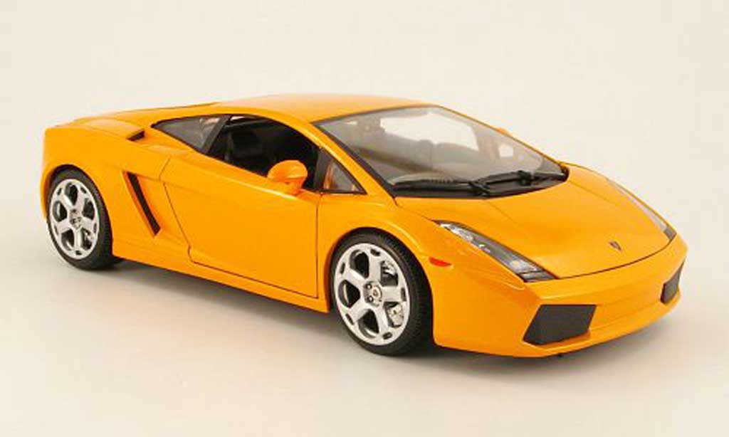 Lamborghini Gallardo 1/18 Maisto arancione 2003 miniatura