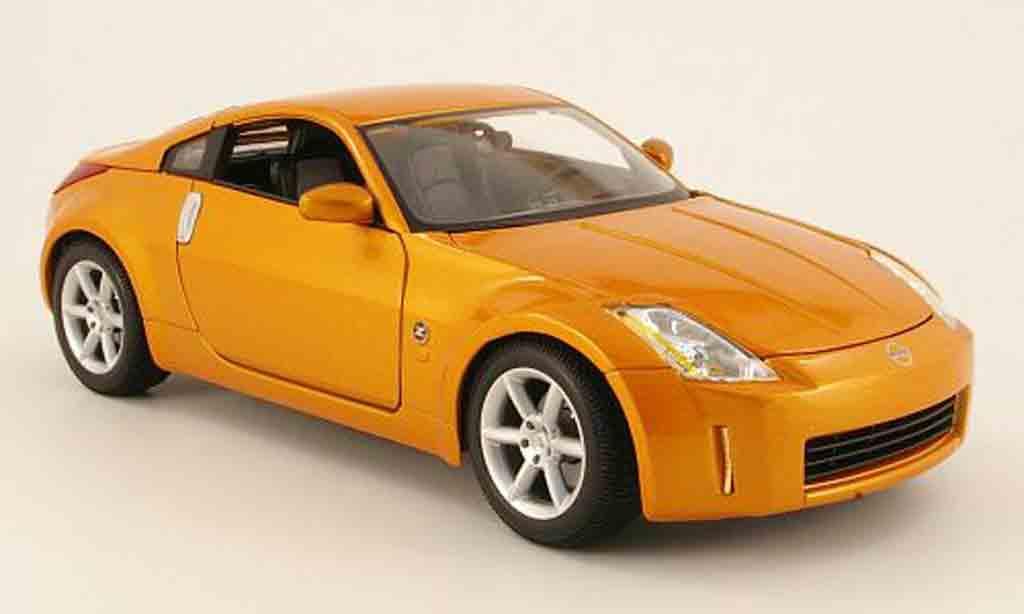 Nissan 350Z 1/18 Maisto kupfer 2003 miniature