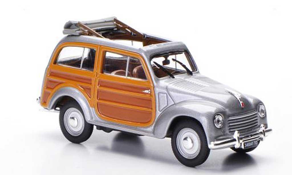 Fiat 500 C 1/43 Norev C Giardiniera Legno grise 1949 miniature