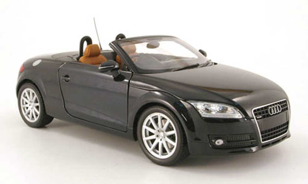 Audi TT Roadster 1/18 Minichamps rhd noir 2006 diecast model cars