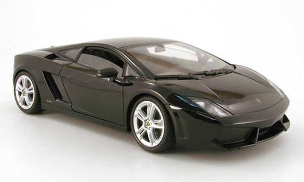 Lamborghini Gallardo LP560-4 1/18 Welly noir diecast