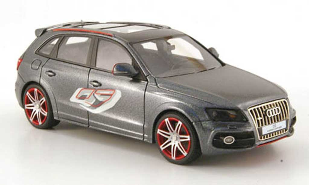 Audi Q5 1/43 Look Smart custom concept grise miniature