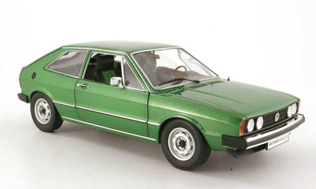 Volkswagen Scirocco GTI 1/18 Revell i green diecast